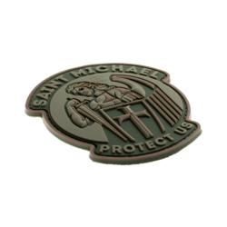 patch pvc saint michael protect us OD 27881