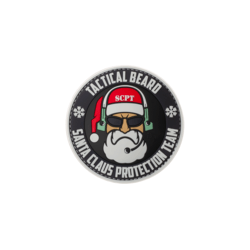 patch pvc tactical beard santa claus protection team 27843