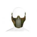 demi masque grillagé camo woodland