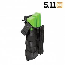 poche double chargeur mp5 noir bungee 5.11