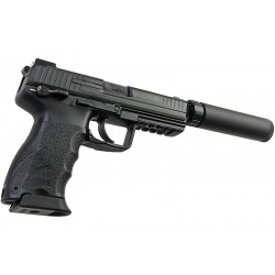 pack HK45 noir GBB + silencieux tokyo marui