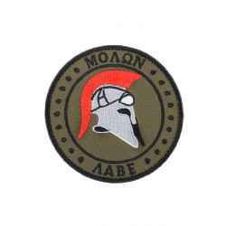 patch velcro CAG Delta casque  Spartan olive