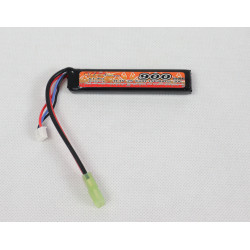 lipo 11.1v 900mah 15c - burst 30c compact mp7, kriss vector, arp9