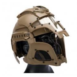 casque medieval iron warrior tan