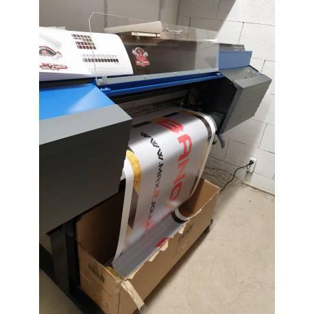 bache imprimée laize de 70cm prix au metre