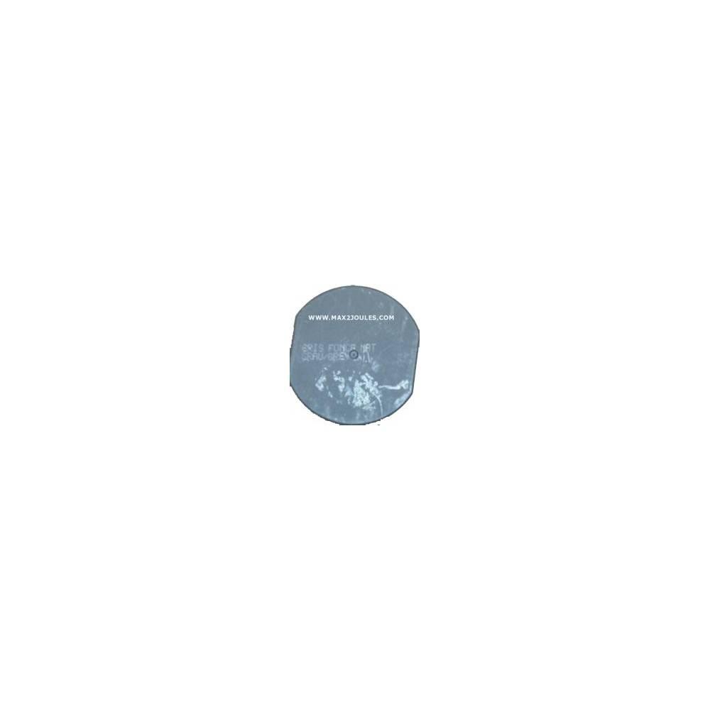 bombe de peinture gris fonce mat