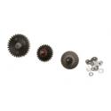 kit pignons prometheus EG hard gear new ver 1/2 pour marui recoil gearbox 26116