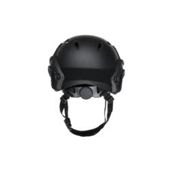 casque fast BJ helmet noir reglage tour de tete