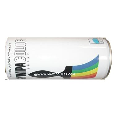 Bombe de peinture noir mat