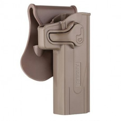 holster à retention CQC hi-capa TAN amomax