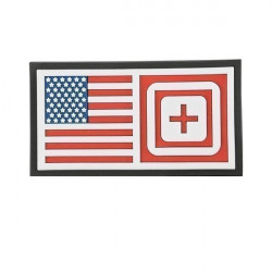 patch 5.11 short stack multicolor mini drapeau us 511-81073