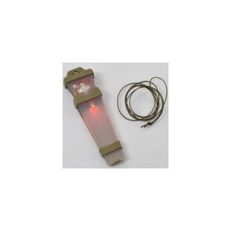safety light red velcro 17810 fma