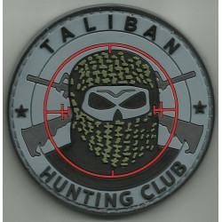 patch velcro hunting club taliban