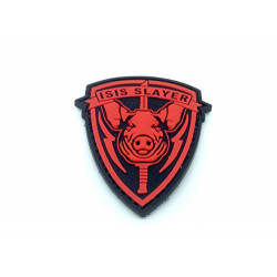 patch velcro ISIS cochon pig rouge