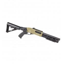 fusil a pompe velites  INVICTA gaz GIII noir et tan