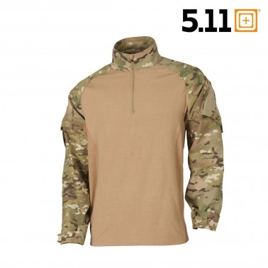 chemise de combat 5.11 rapid assault multicam