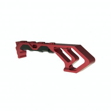 grip TD MOD ForeGrip  KeyMod & M-LOK red rouge JJ airsoft