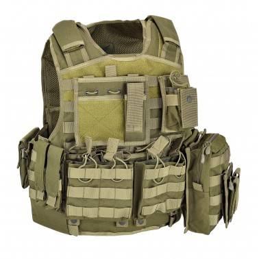 gilet armour carrier tan defcon5 d5-bav06 od