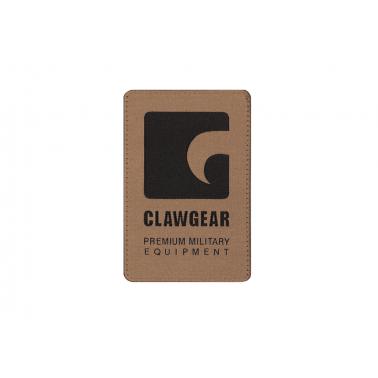 patch clawgear fond sable logo noir