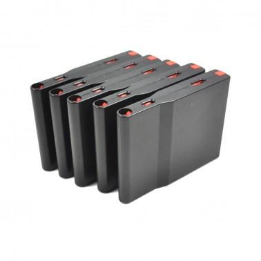 lot de 5 chargeurs plastique SRS A1 a2 30 bb's noir silverback