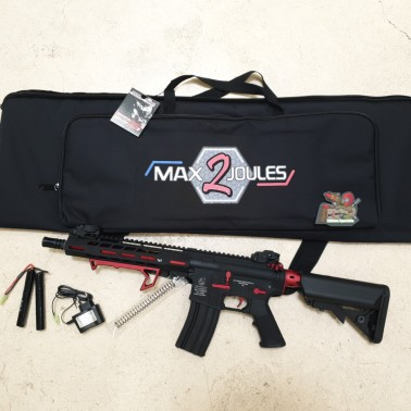 Pack m4 métal hornet rouge