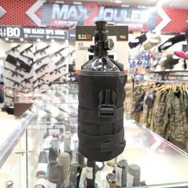 poche 5.11 noir porte bouteille H2O et bouteille 0.8L hpa