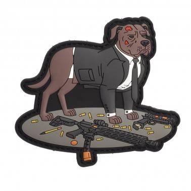 patch baba yaga pitbull chien costume airsoftology