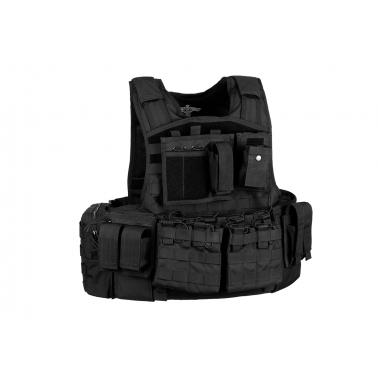 Gilet tactique MOD Carrier Combo NOIR invader gear