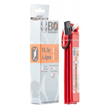 LIPO 11.1v 1300mah 25C T-DEAN 3 sticks a63018T