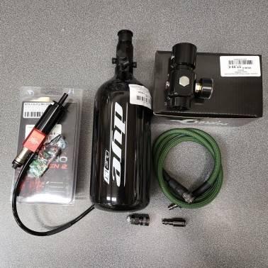 Pack complet HPA Wolverine inferno spartan pour AEG V2 + bouteille / regulateur / flexible / batterie