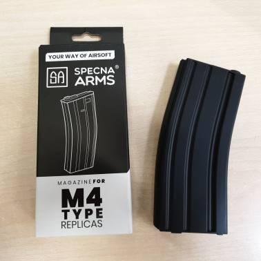 chargeur aeg 120 bb's m4/m16 polymère noir SPECNA ARMS