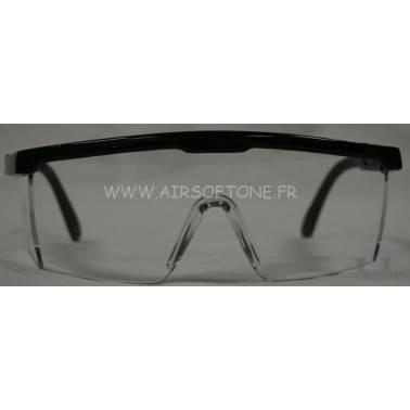 Lunettes de protection transparentes