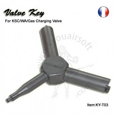 Outil de demontage pour valve (KSC/WA/gas charging)