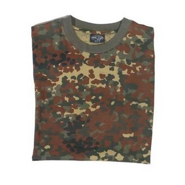 T shirt Tarn BW flecktarn