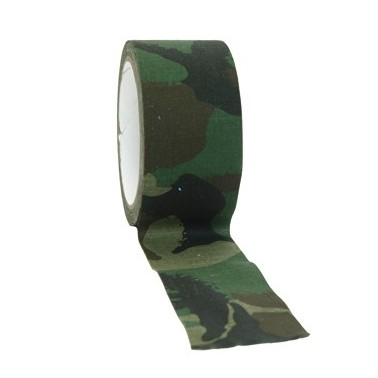 Camo band woodland (scotch tissu) 10m