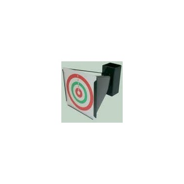 Porte cible metal pour 4.5mm pour carton 17x17cm