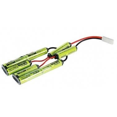 batterie 9.6v 1100mah pour cxp ics mc-116