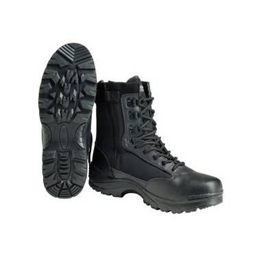 Chaussure Tactique noir avec fermeture ykk