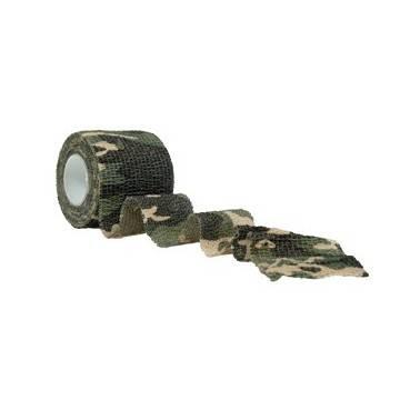 Bande autoagrippante woodland 4.5ml larg50mm