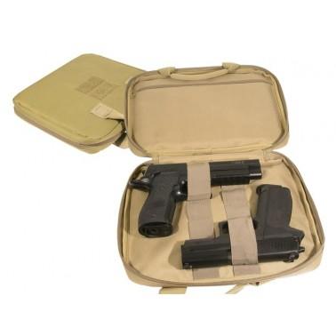 Housse beige pour 2 pistolets 604056