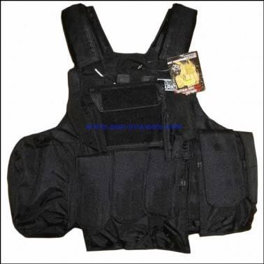 Veste Tactique CIRAS Noir 604065