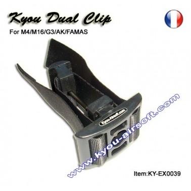 Doubleur de chargeur DCS noir type m16/m4 kyou