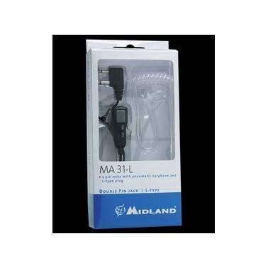 Tube acoustique avec micro pour Alan HP450/G8/g14/M99