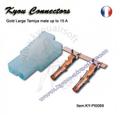 Connecteur large Tamiya Male pour replique