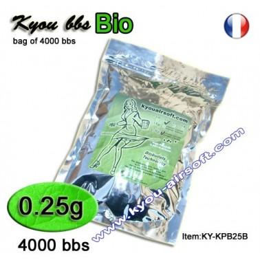 Sachet 1kg 4000bb's bio Kyou 0.25