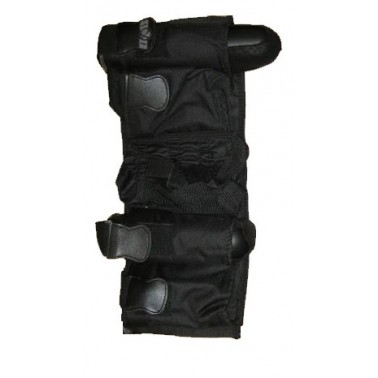 Harnais noir 4+1 vertical