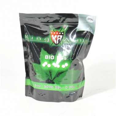 sachet bb's bio 0.2g sac de 1 kg King Arms