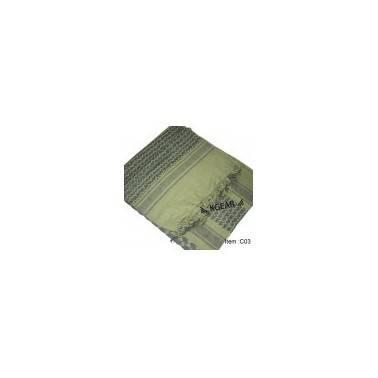 Cheche vert/noir 1.1mx1.1m miltec