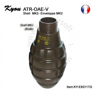 coque vide atr-oae-v pineapple MK2
