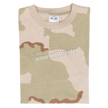 T-shirt tarn 3 color desert miltec